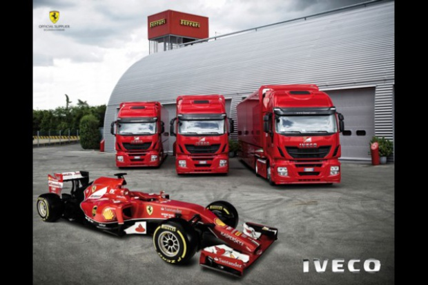 Stralis Hi-Way dla Ferrari F1