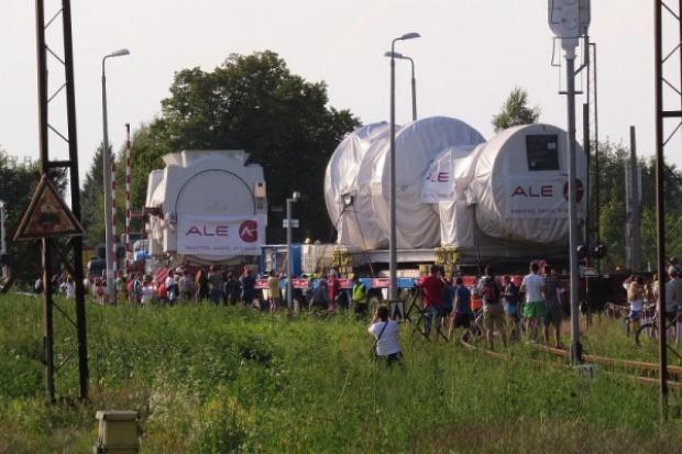 Na budowę bloku w Stalowej Woli dotarły turbina i stojan