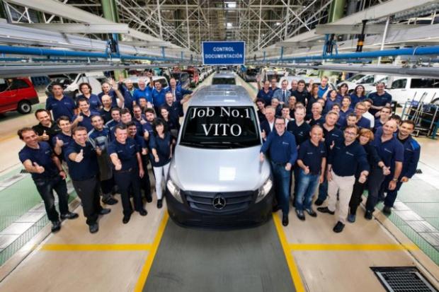 Uruchomienie produkcji nowego Vito