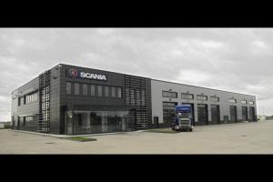 Nowy obiekt Scania w Białymstoku