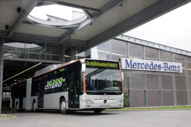 Mercedes-Benz na czele autobusowego rynku w Polsce