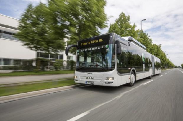 "MAN Lion's City GL CNG z tytułem ""Bus of the Year"""