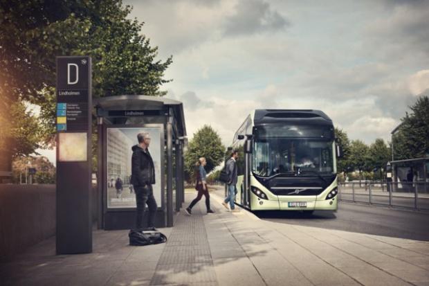 Nowy hybrydowy autobus Volvo