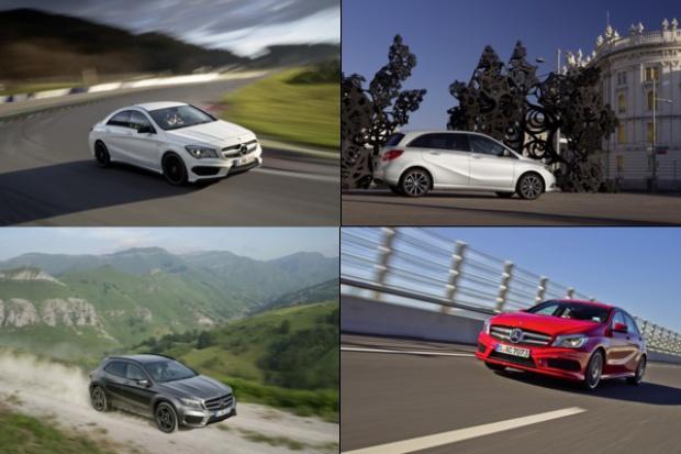 Specjalne zadanie kompaktów Mercedes-Benz