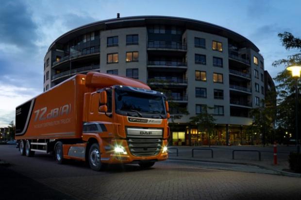 DAF prezentuje supercichy pojazd dystrybucyjny