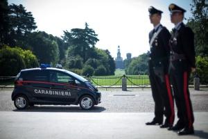 Elektryczne Mitsubishi dla włoskich karabinierów