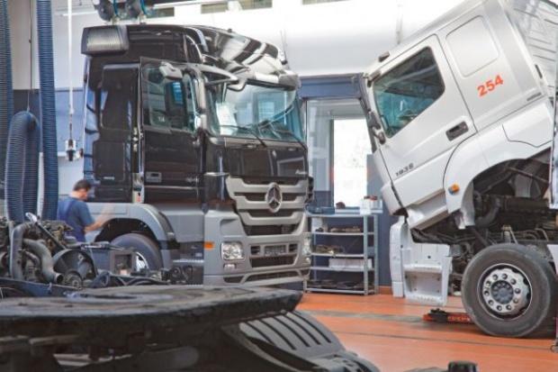 Nowa stacja pojazdów ciężarowych Mercedes-Benz w Będzinie