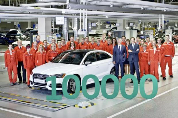 100 tysięcy samochodów z fabryki Audi Hungaria