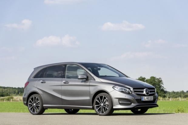 Mercedes odświeża B-Klasę