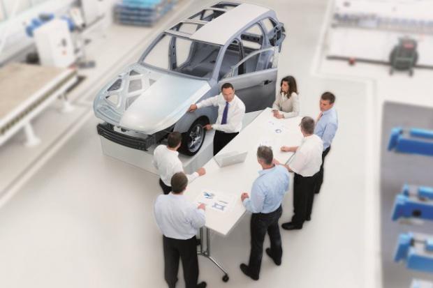 ThyssenKrupp odchudza samochodowe części o połowę