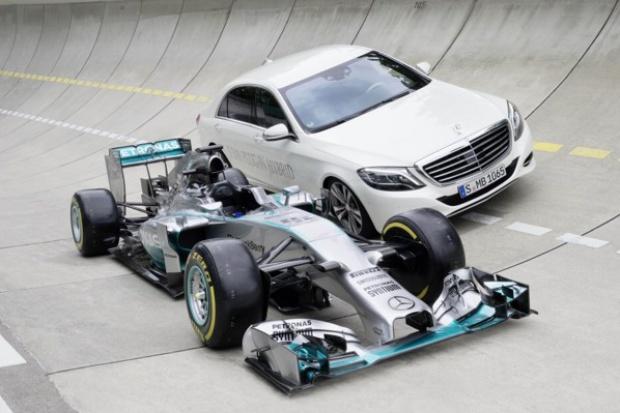 Wydajność w służbie osiągów - technologia F1 w osobowych Mercedesach