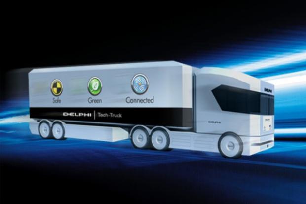 """Delphi i koncepcja """"Tech Truck"""""""