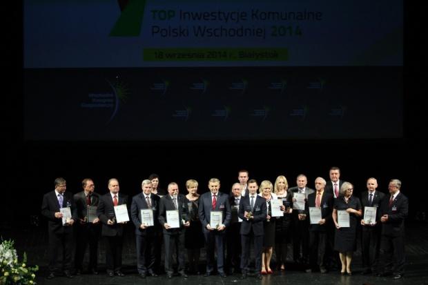 Top Inwestycje Komunalne Polski Wschodniej 2014 - wyróżnienia wręczone