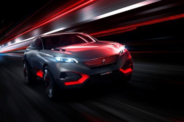 Niekonwencjonalny crossover Peugeota