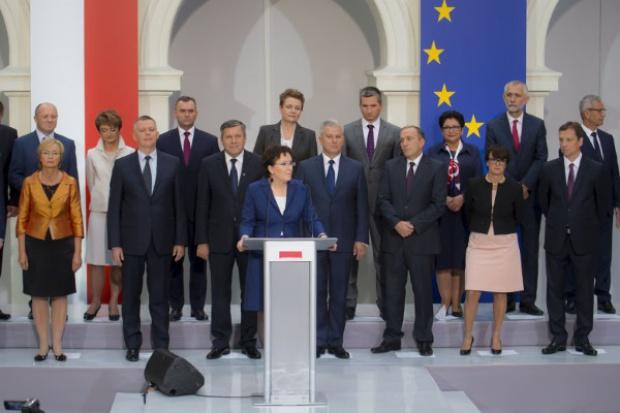 Nowy rząd Ewy Kopacz. Pięciu nowych ministrów