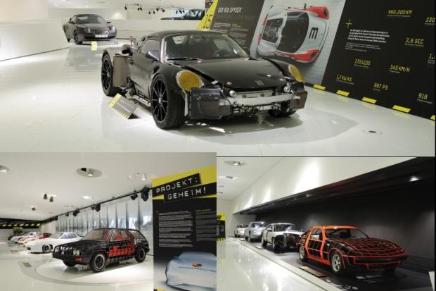 Porsche: Projekt: ściśle tajne!