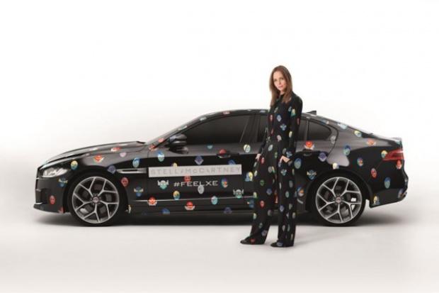 """Jaguar """"podrasowany"""" przez Stellę McCartney"""