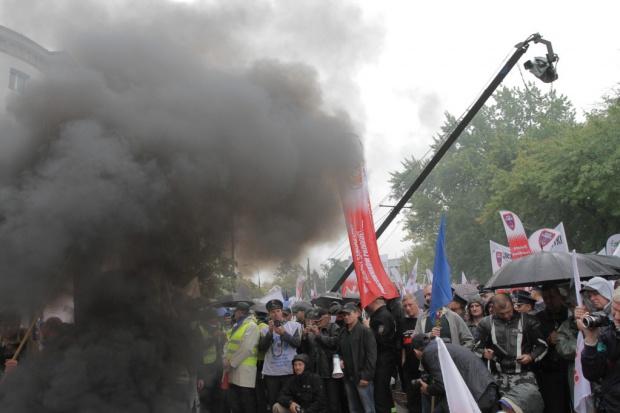 Trzcionka, Kadra: będzie eskalacja górniczych protestów
