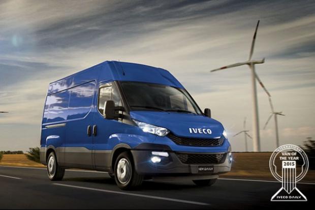 IVECO Daily - Samochodem Dostawczym Roku 2015