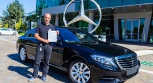 Autonomiczne Mercedesy dopuszczone do ruchu w Kalifornii
