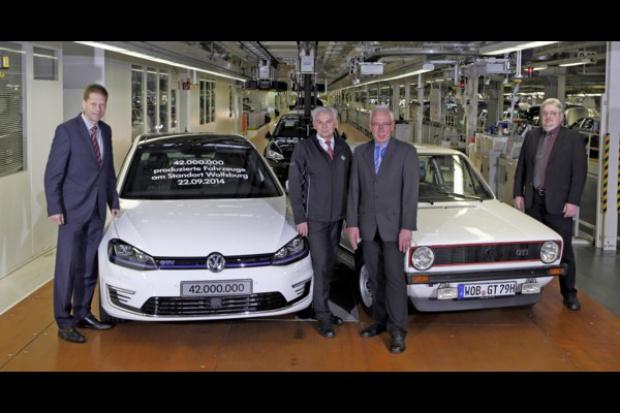 42 miliony aut z Wolfsburga