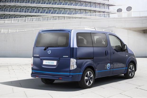 e-NV200 jako pięciogwiazdkowy elektryczny środek transportu