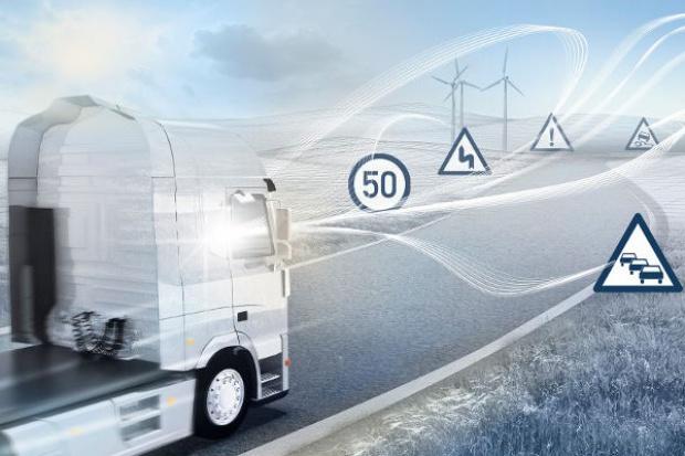 Samochody ciężarowe w sieci