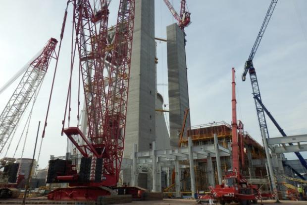 Zakończono ważny etap budowy bloku 1075 MW Kozienicach