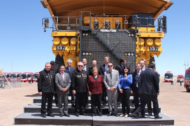 KGHM uruchomił w Chile swoją pierwszą zagraniczną kopalnię