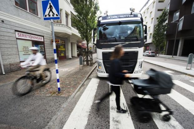 Jeszcze jedna technologia bezpieczeństwa w ciężarówkach Volvo