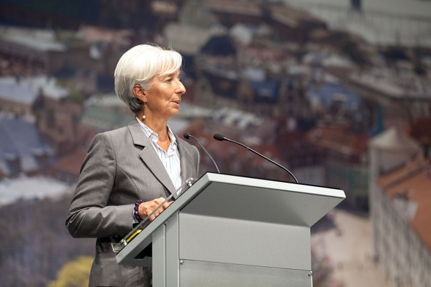 Szefowa MFW ostrzega przed ponowną recesją w strefie euro
