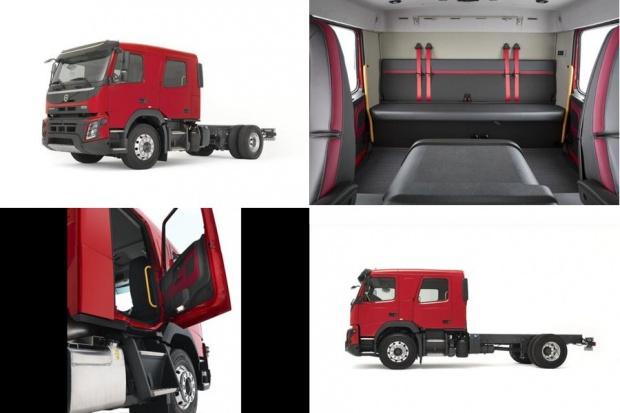 Większe kabiny w ciężarowych Volvo Euro 6