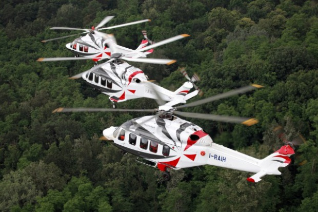 Kolejne śmigłowce AgustaWestland lecą do Chin