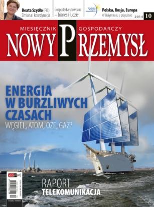 Magazyn Gospodarczy Nowy Przemysł 10/2014