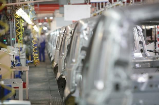 Produkcja przemysłowa mocno w górę
