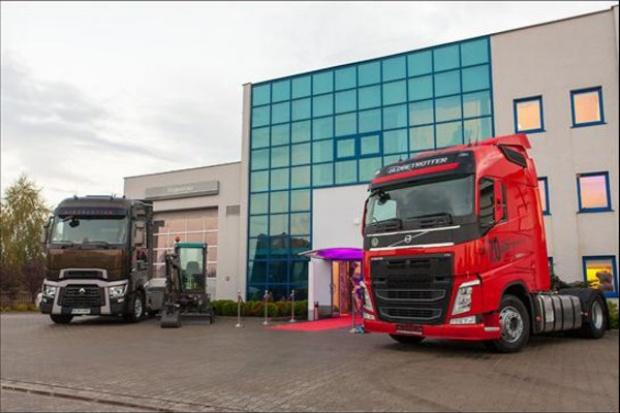 Dwumarkowy punkt w sieci Volvo Group Trucks