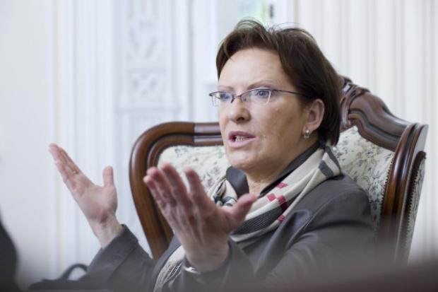 Ewa Kopacz zapowiada ostre stanowisko ws. redukcji CO2