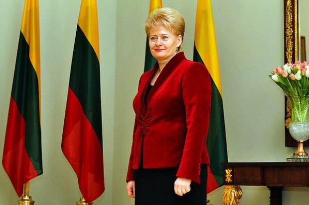 Grybauskaite: terminal LNG może pokryć 90 proc. potrzeb krajów nadbałtyckich
