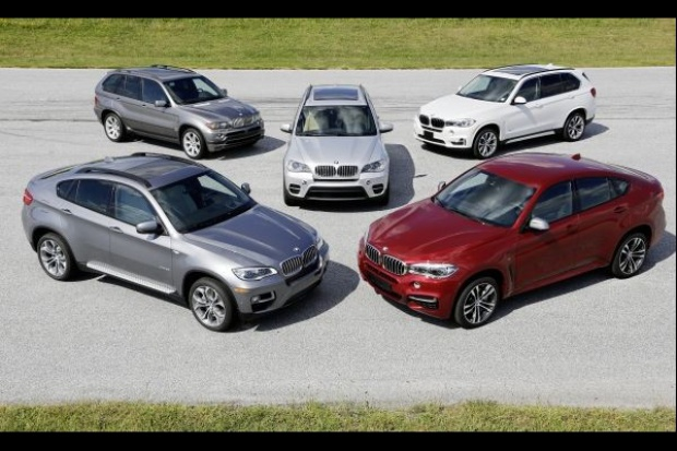 15 lat modeli BMW X