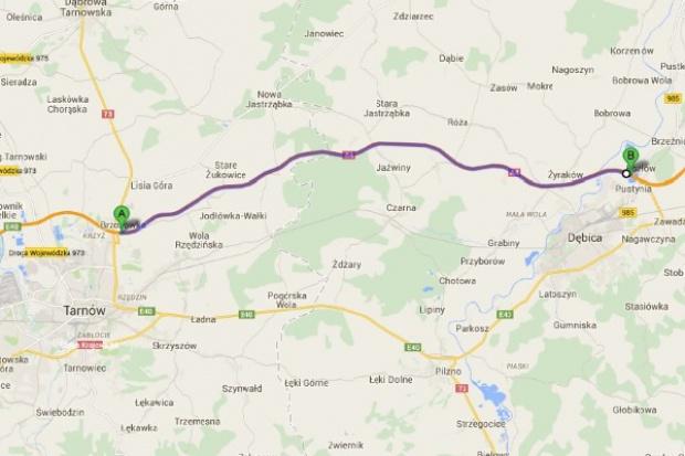 A4 z Tarnowa do Dębicy oddana do ruchu