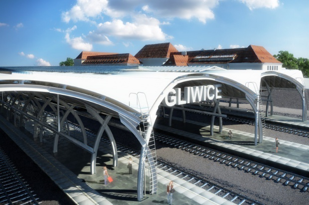 Aldesa wygrała przetarg na dworzec kolejowy w Gliwicach. Zobacz wizualizacje
