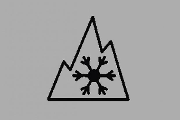 Alpejski znaczek na oponach zimowych dla ciężarówek