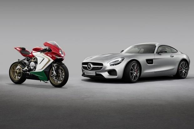 Mercedes-AMG rozpoczyna współpracę z MV Agusta