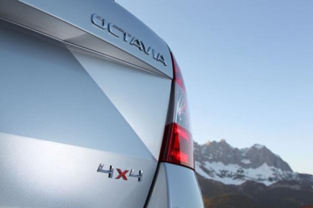 Octavia liftback również jako 4x4
