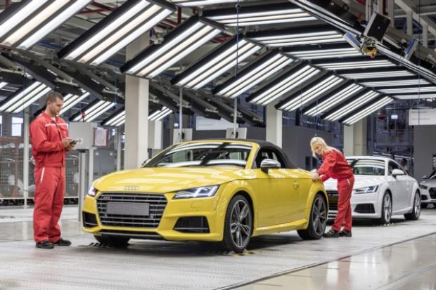 Audi TT Roadster powstaje na Węgrzech