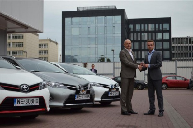 Hybrydowe Toyoty dla Sixt Rent a Car Polska