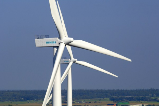 Moc turbin wiatrowych Siemens w Polsce w 2015 r. wyniesie 253 MW