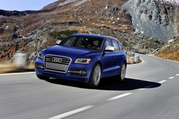W październiku sprzedaż Audi ciągle pięła się w górę