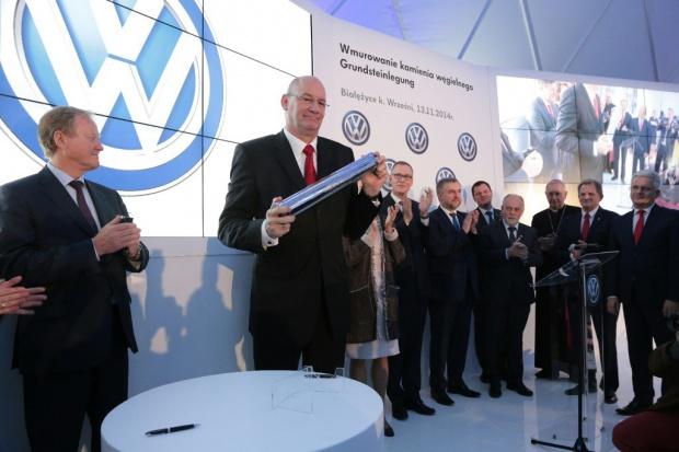 Wmurowano kamień węgielny pod budowę nowej fabryki VW
