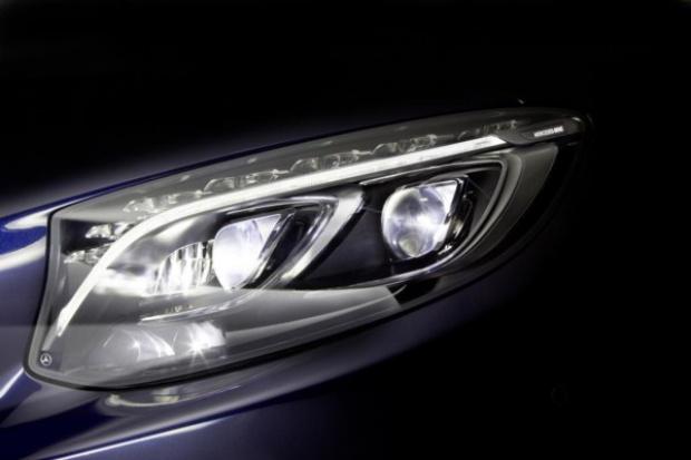 Reflektory przyszłości wg Mercedesa